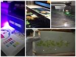 Máy in trên kính, máy in kính - máy in UV phẳng