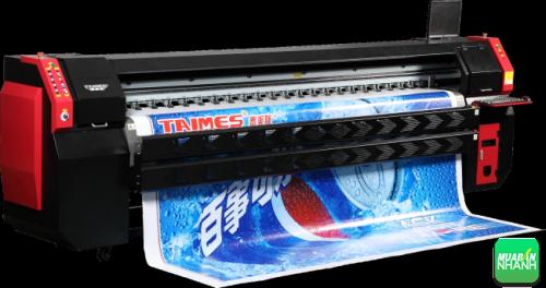Máy in quảng cáo khổ lớn cho ra thành phẩm đạt chất lượng cao, đẹp, màu sắc, hình ảnh rõ nét