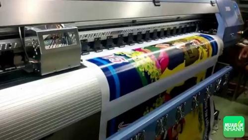 Sản phẩm in từ máy in khổ lớn có độ mịn cao, chất lượng đẹp