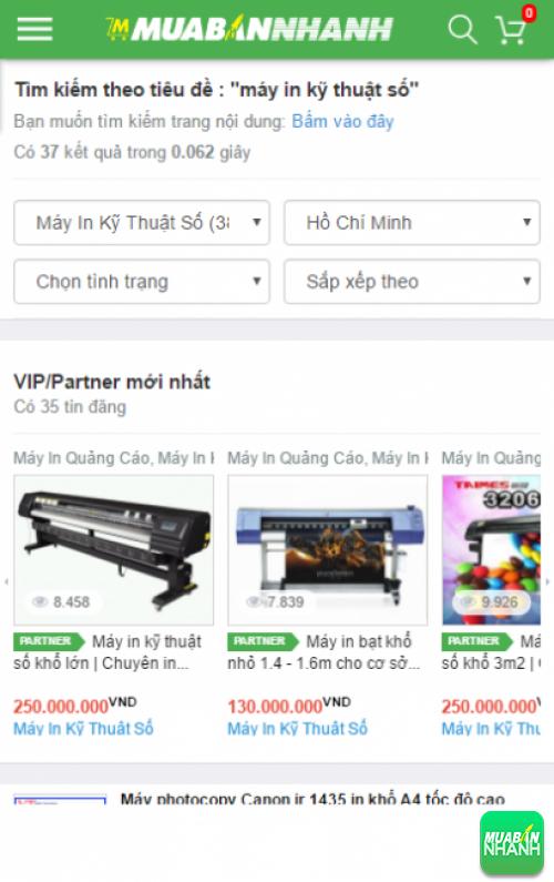 Tìm kiếm và chọn mua máy in kỹ thuật số giá rẻ tại Công ty Máy In Quảng Cáo
