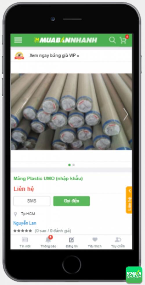 Màng Plastic UMO (nhập khẩu)